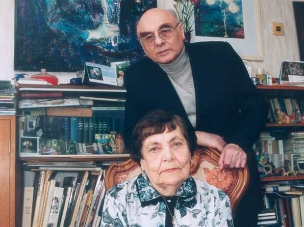 Борис Дубровин с писательницей Анной Вальцевой/ Ян Арт