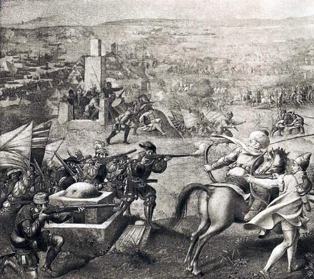 Испанская пехота в бою в Тунисе в 1535 году - Превеза: план и импровизация | Warspot.ru