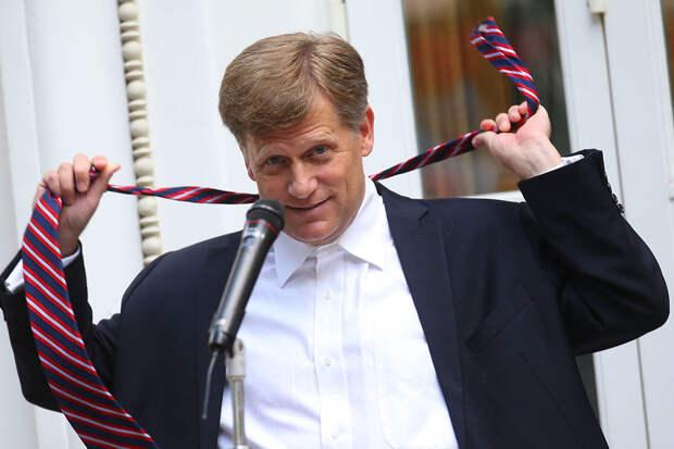 Экс-посол США в России признался в любви к русскому творогу