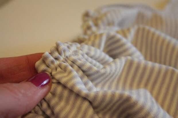 как сшить платье из любой футболки с рукавами и отреза ткани