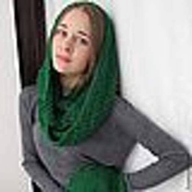 Вязаный комплект Green
