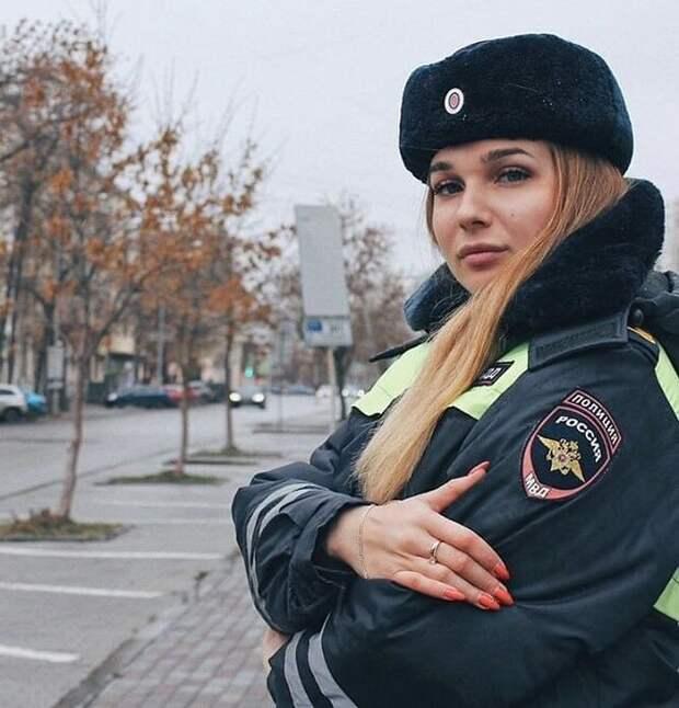 2. девушки, красота, мвд, пилотка, полиция, россия, форма