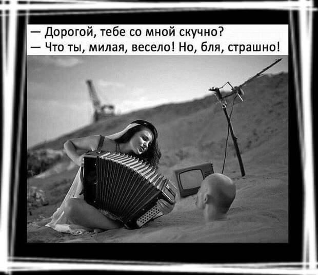 Теща спрашивает зятя. — А ты видел мужчину, который спас меня, когда я тонула?...