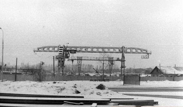 Фото дня: 45 лет назад строили станцию метро «Бабушкинская»