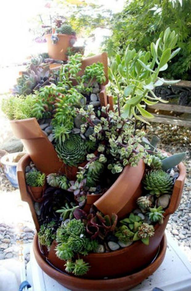 поделки для дачи и сада своими руками