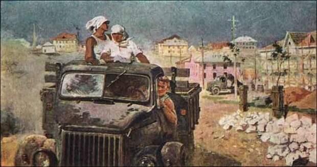 Будни и праздники советских людей в картинах Александра Пушнина.