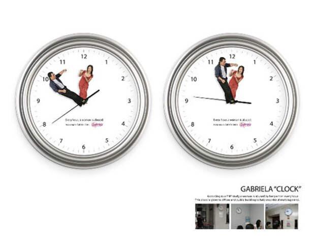 Часы бьют каждый час