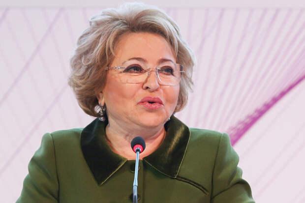 Матвиенко анонсировала снятие ограничений по COVID-19