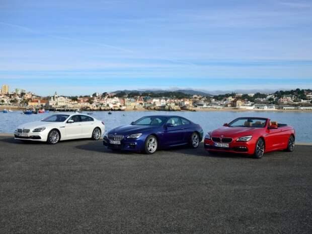 BMW объявила цены на рестайлинговый BMW 6-й серии