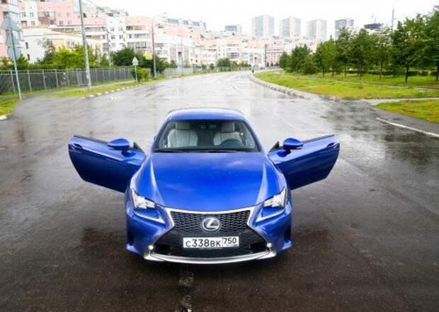 Тест Lexus RC 350 F Sport: декларация независимости