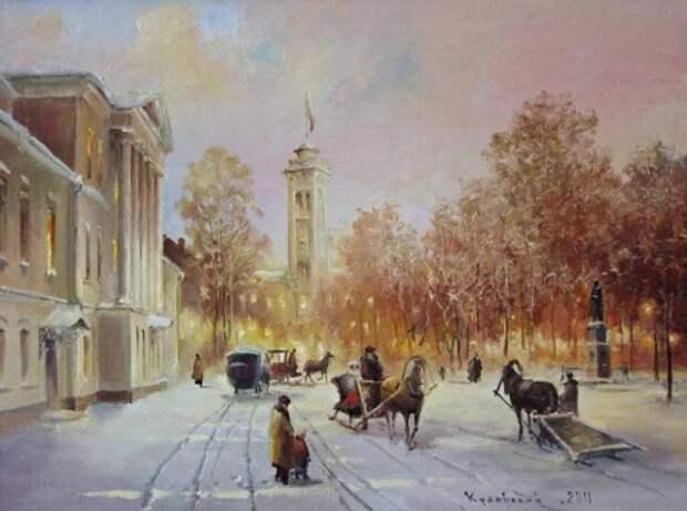 художник Владимир Краевский картины – 54