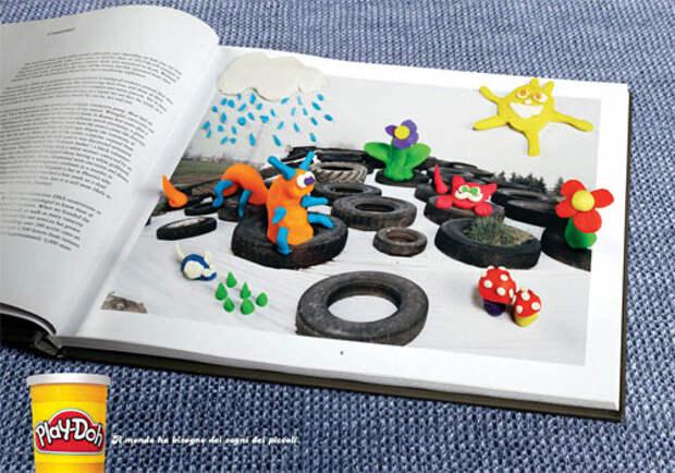 Play-Doh: детский взгляд на мир