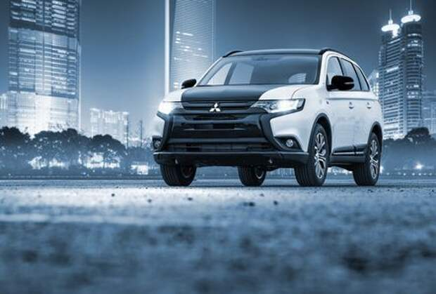 В России появилась лимитированная версия Mitsubishi Outlander
