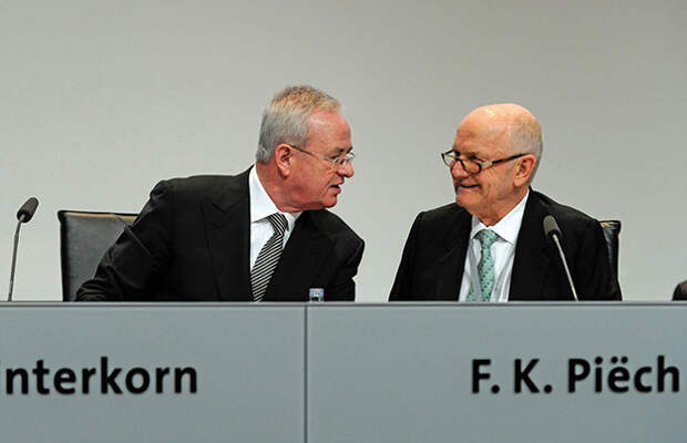 Глава концерна Volkswagen отправлен в отставку