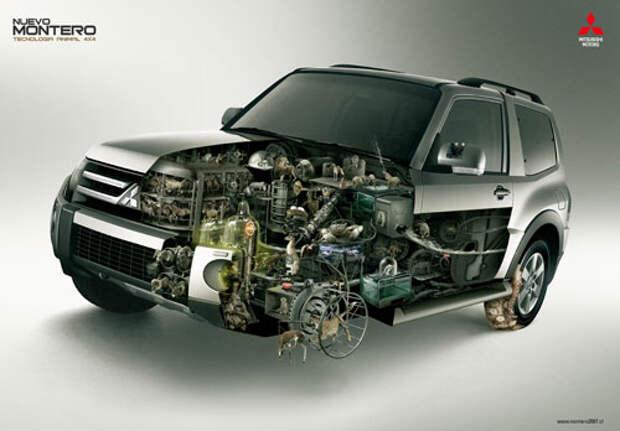 Mitsubishi Montero: не только лошадиные силы