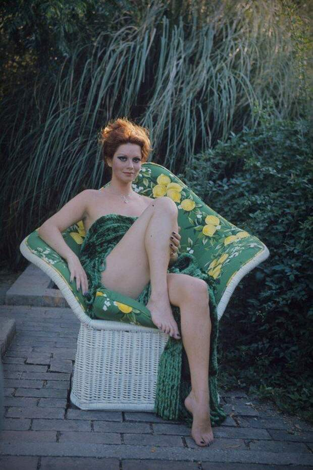 Итальянская красотка из 60-ых Джанна Серра