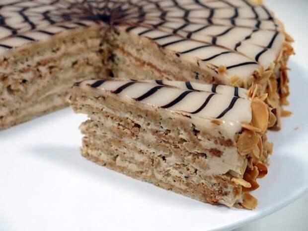 Торт Эстерхази — шедевр, который может приготовить каждая хозяйка