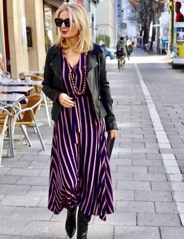 Вылезаем из надоевших брюк и надеваем платья. 14 весенних образов для женщин 50+