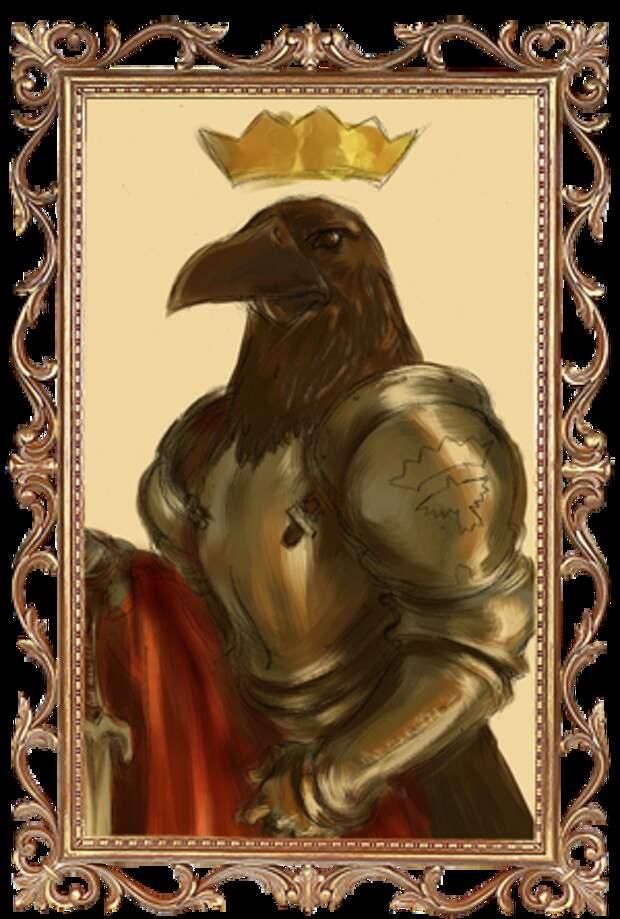Хелависа - Король-Ворон (Французская сказка)