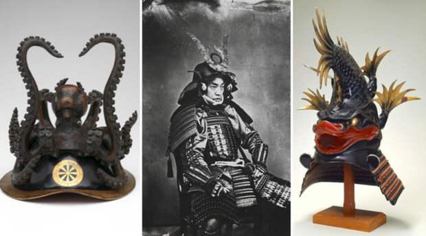 Как выглядели шлемы японских самураев: Кабуто - эстетика войны