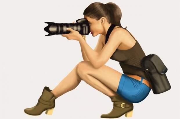 Анекдоты про фотографов  и фотографии