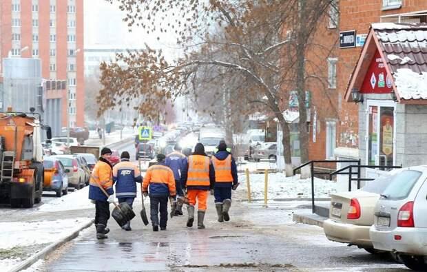 Подрядчики в Ижевске оперативно реагируют на сообщения жителей о скользких дорогах и тротуарах
