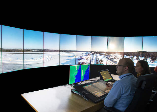 В британском аэропорту заработала первая виртуальная диспетчерская