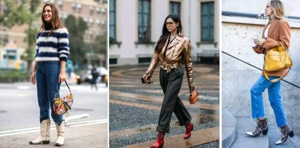 Казаки: непростая обувь в стильных женских образах