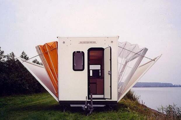 АВТОМАШ. Компактный дом-раскладушка для путешествий