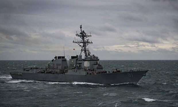 Шарики за ролики. Эсминец США сбежал от столкновения с китайцами