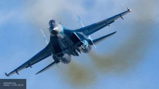 Истребитель ВКС РФ отогнал от российских границ самолет-разведчик США