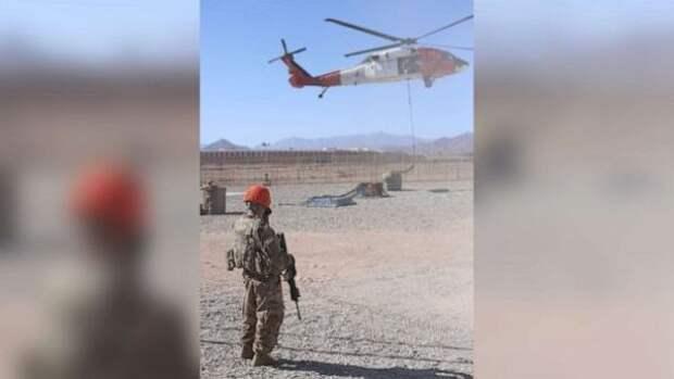 Пентагон уточнил свои потери после крушения вертолёта наегипетском Синае