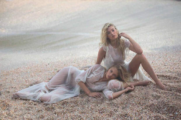 Ангелы Victoria's Secret в фотосессии для испанского журнала