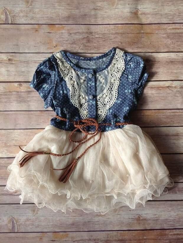 Из блузки платье