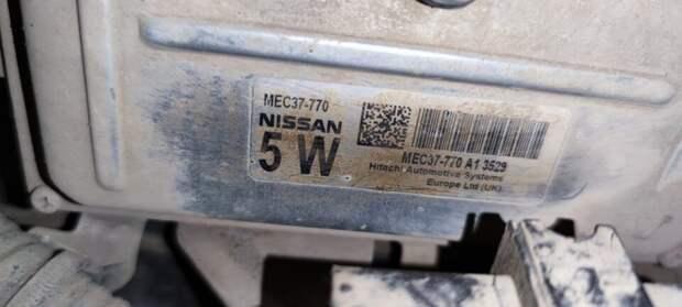 Не удачная прошивка Nissan Note