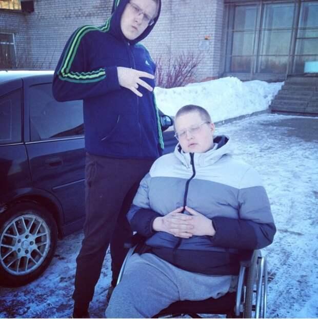 Этот парень потерял ногу, но обрел силу воли