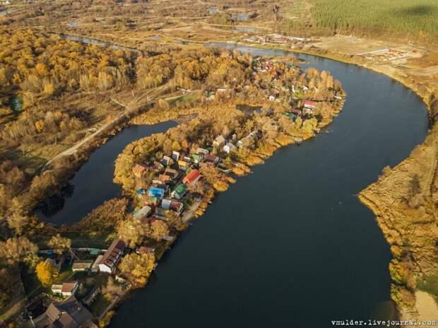 Пролетая над моей деревней ностальгия, природа, путешествия, факты, фото