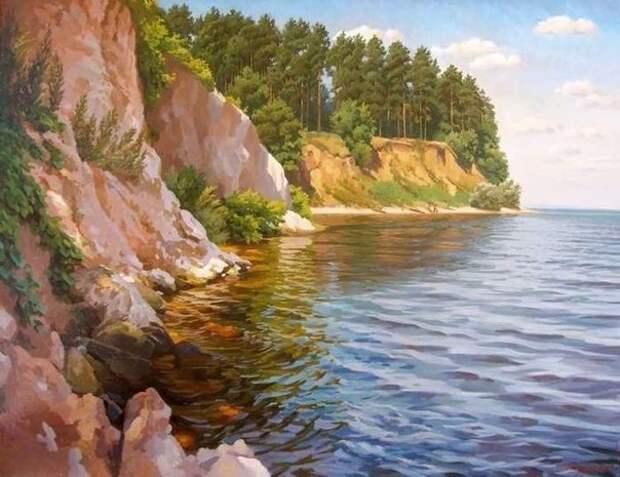 Красота природы России в пейзажной живописи татарского художника - Айрата Гайфулина