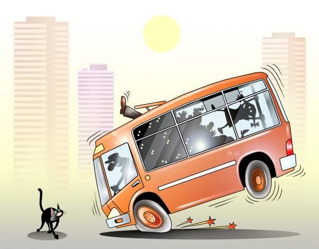 «Небезопасная поездка»: кто и почему падает в общественном транспорте?