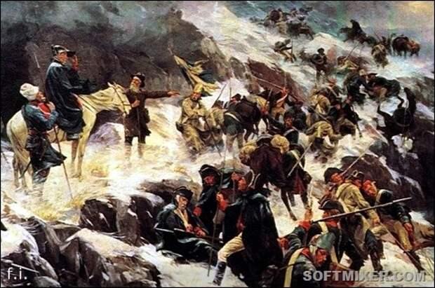 О переходе Суворова через Альпы