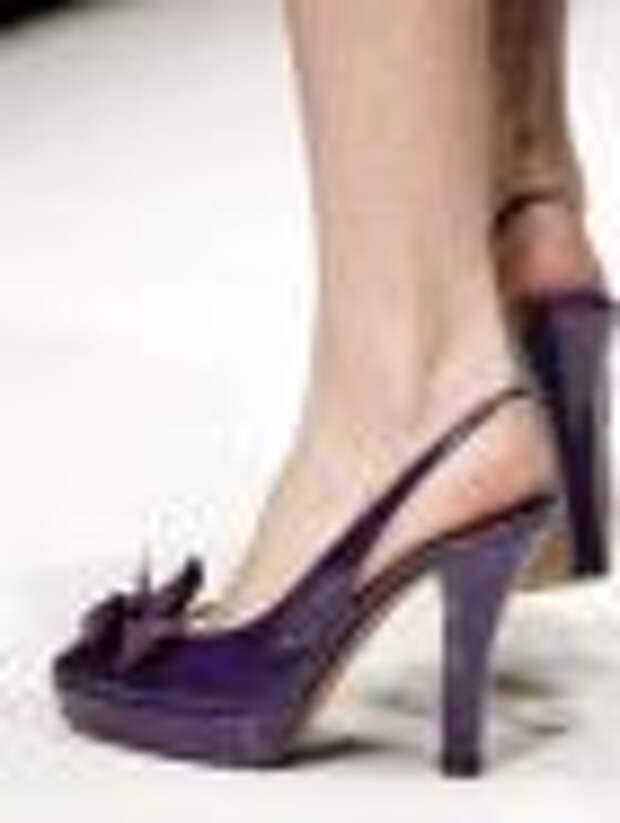 Обувь для ходьбы и обувь для витрин