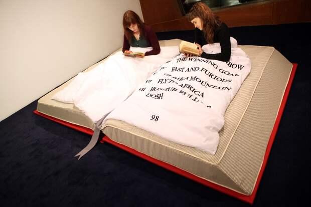 10 крутых кроватей, скоторыми захочется уйти вспячку