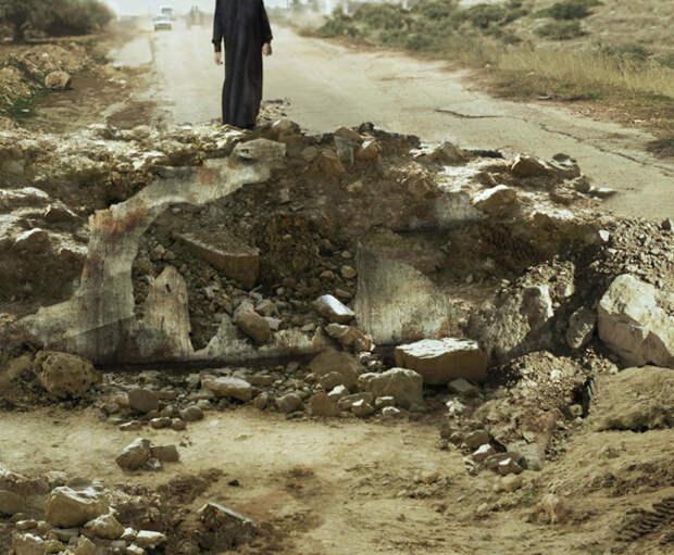Воронка от взрыва