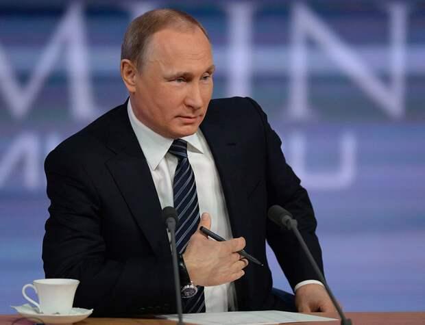 Путин ответил на вопрос о кризисе в России анекдотом
