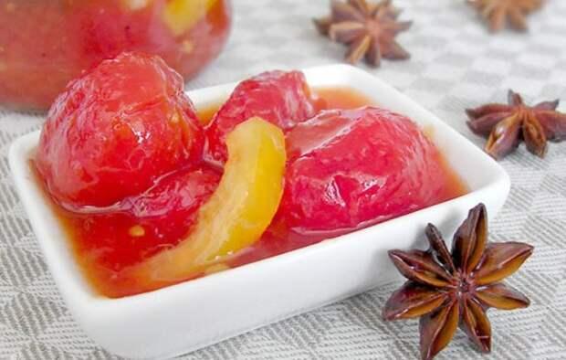 Варенье из помидоров зеленых и красных: неожиданно вкусно! Таких рецептов варенья из помидоров вы ещё не знаете