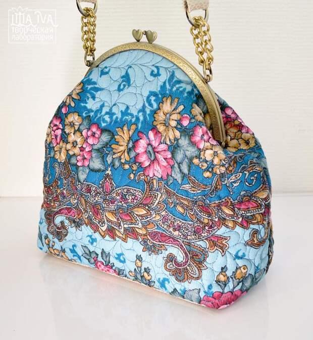 Шьем сумочку в русском стиле