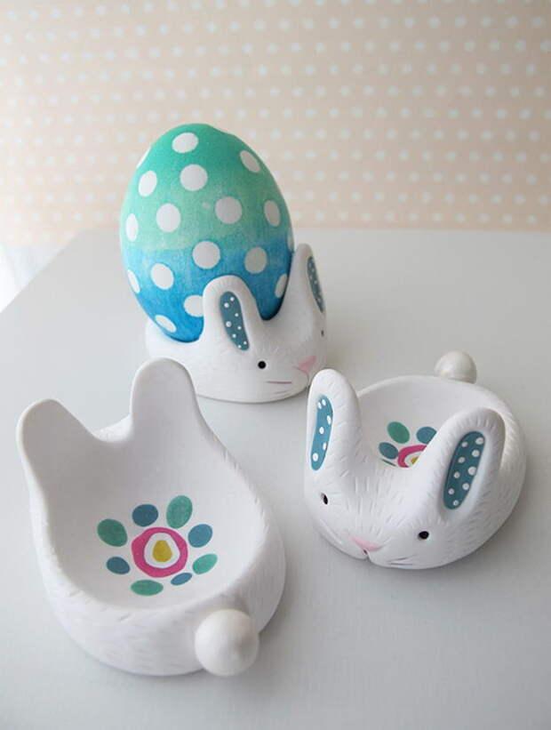 как сделать подставку для яиц своими руками