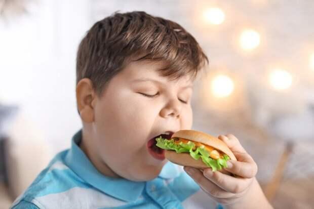 Очень важно понять - почему ребенок толстый. И дело не только в перекармливании. Может быть он заедает стресс? Может быть ему ничто не интересно в жизни, кроме как сидеть в кресле и есть. вы должны знать чем живет ваш ребенок и о чем он думает
