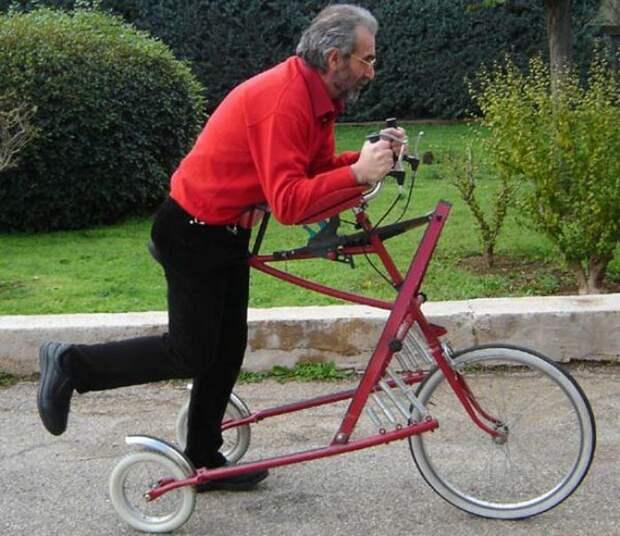 15 сумасшидших велосипедов, созданных энтузиастами-шутниками со всего мира