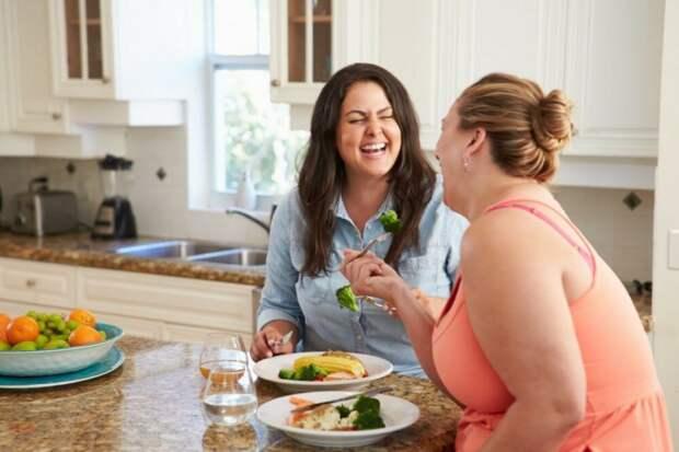 Как похудеть, если мама против